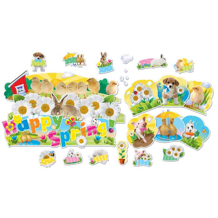 Everything Spring Mini Bulletin Board Set By Eureka
