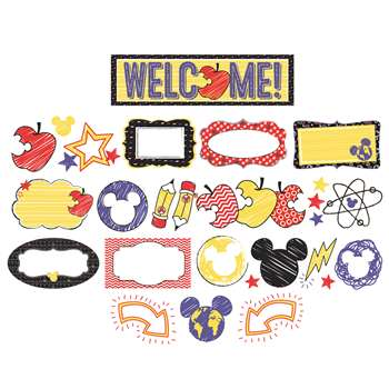 Mickey Color Pop Mini Bulletin Board Set, EU-847066
