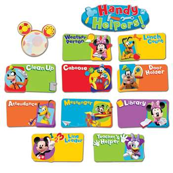 Shop Mickey Mouse Clubhouse Handy Helpers Job Chart Mini Bbs - Eu-847100 By Eureka