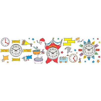 Dr Seuss - If I Ran The Circus Telling Time Bb Set, EU-847156