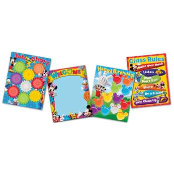 Mickey Mouse Clubhouse Chart Set, EU-847534