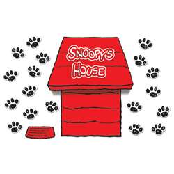 Giant Peanuts Dimensional Dog House Bulletin Board Set By Eureka