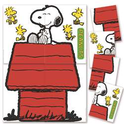 Giant Character Snoopy & Dog House Bulletin Board Set By Eureka