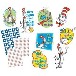 Cat In The Hat Reading Goal Kit By Eureka