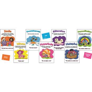 Figurative Language Bulletin Board Set By Eureka