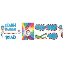 Dr Seuss 3D Read Bulletin Board Set By Eureka