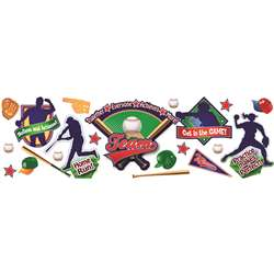 Baseball Bulletin Board Set By Eureka