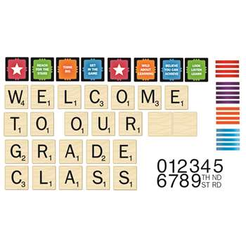 Scrabble Welcome To Our Class Mini Bbs By Eureka