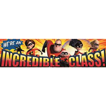Shop Incredibles Incredible Class Classroom Banner - Eu-849005 By Eureka