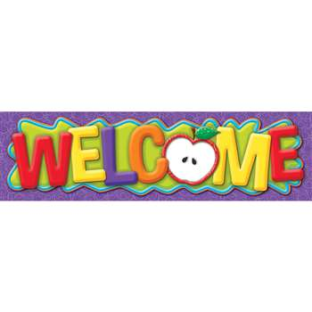 Color My World Welcome Banner, EU-849007