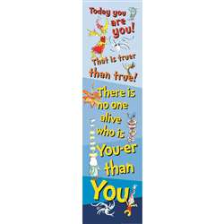 Dr Seuss Motivational Vertical Banner, EU-849446