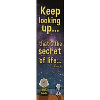 Peanuts Keep Looking Up Vertical Banner, EU-849465