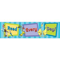 Cat In The Hat Read Every Day Banner By Eureka