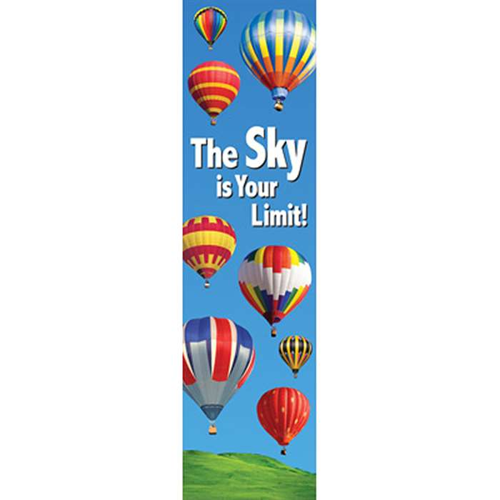 The Sky Is Your Limit Banner By Eureka