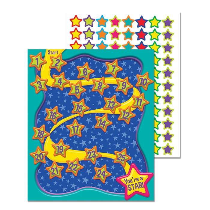 Color My World Basic Mini Reward Chart Plus, EU-849931