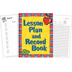 Lesson Plan And Record Book By Eureka