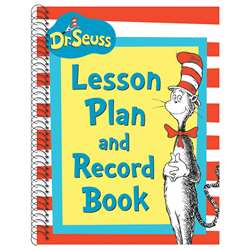 Cat In The Hat Lesson Plan And Record Book By Eureka