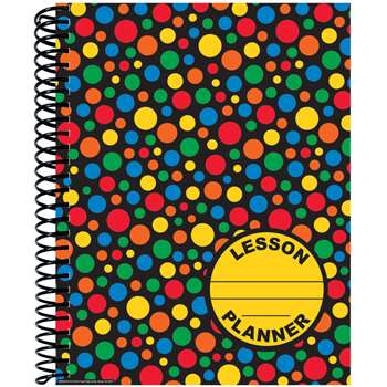 Dots On Black Lesson Plan & Record Book, EU-866333