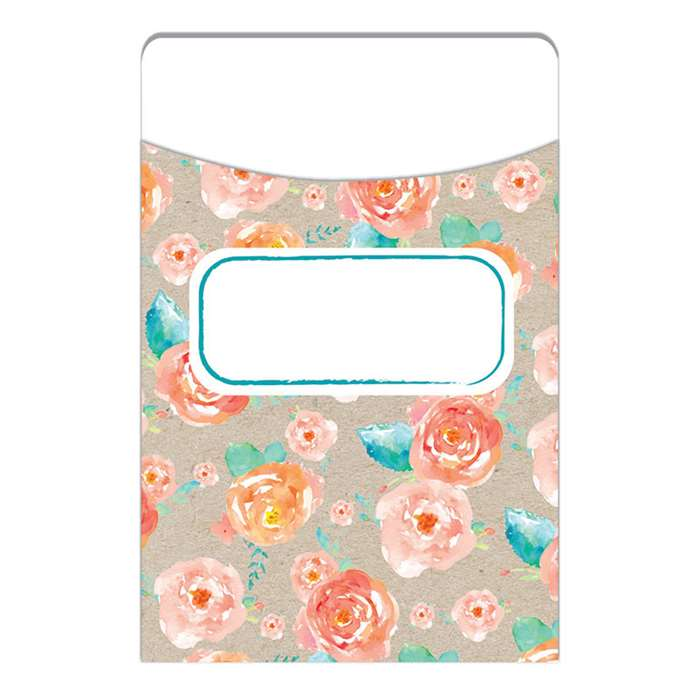 Confetti Splash Library Pockets Floral Toss, EU-866402