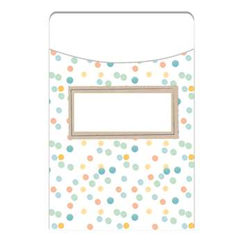 Confetti Splash Library Pockets Dots, EU-866403