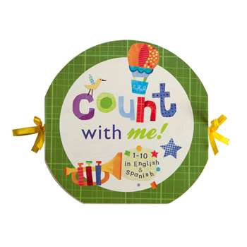Count With Me Accordion Board Book, EU-BBAB14543