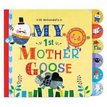 My 1St Mother Goose Board Book, EU-BBBT12688