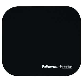 Mouse Pad Black By Fellowes