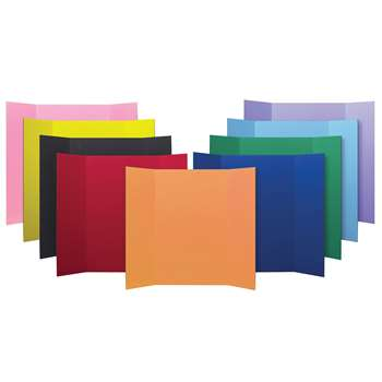 Shop Mini Corrugated 24Pk Assorted 6 Colors Project Boards - Flp3001524 By Flipside