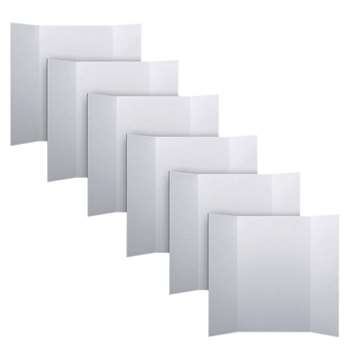 Project Boards White Carton Of 6 By Flipside
