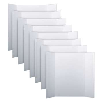 Project Boards White Carton Of 8 By Flipside