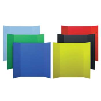 Project Boards Assorted 6-Pk 1 Each Of 6 Colors By Flipside
