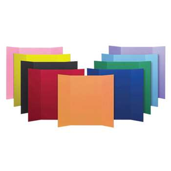 Project Boards Assorted Colors 24Pk By Flipside