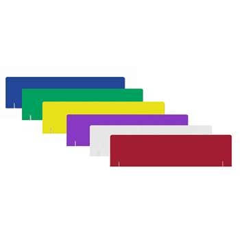 Project Board Headers Assorted 1 Each Of 6 Colors By Flipside