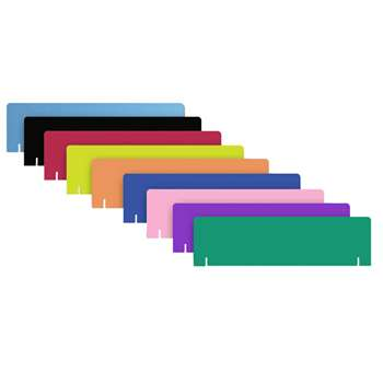 Project Board Headers 9Pk Assorted 1 Each Of 9 Colors By Flipside