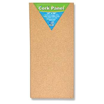 Cork Panel 16In X 36In By Flipside