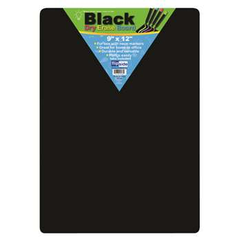 Black Dry Erase Boards 9 X 12 By Flipside