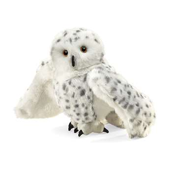 Puppet Snowy Owl By Folkmanis