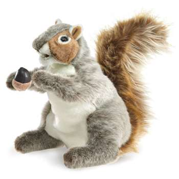 Puppet Gray Squirrel By Folkmanis