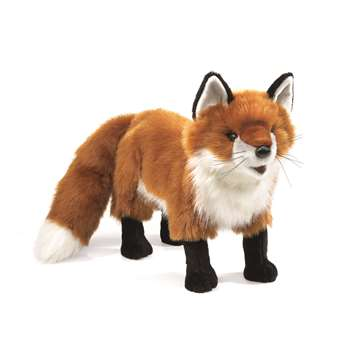 Shop Red Fox Hand Puppet - Fmt2876 By Folkmanis