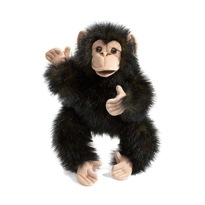 Baby Chimpanzee Baby Stage Puppet By Folkmanis