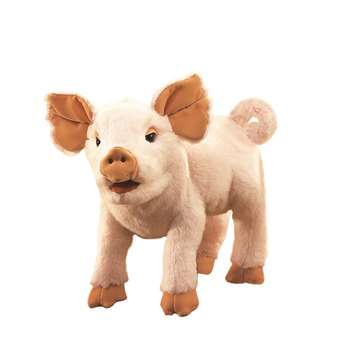 Piglet Hand Puppet By Folkmanis