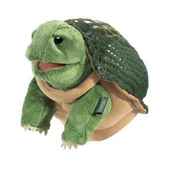 Shop Turtle Little Puppet By Folkmanis