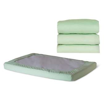 Safefit Mint Compact Elastic Fitted Sheet By Foundations