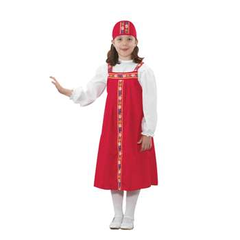 Ethnic Costumes Russian Girl By Childrens Factory