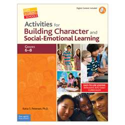 Gr 6-8 Activities For Building Character Social Emotional Book By Free Spirit Publishing