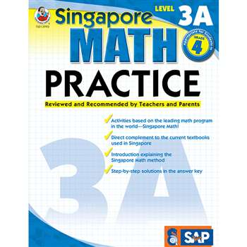 Math Practice Level 3A Gr 4 By Carson Dellosa