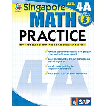 Math Practice Level 4A Gr 5 By Carson Dellosa