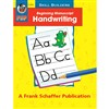Beginning Manuscript Handwriting By Frank Schaffer Publications