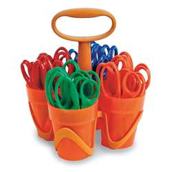Fiskars Art Caddy With 24 Blunt Tip Scissors By Fiskars Manufacturing