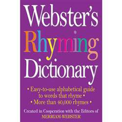Websters Rhyming Dictionary By Federal Street Press